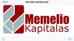 "UAB ""MEMELIO KAPITALAS"""